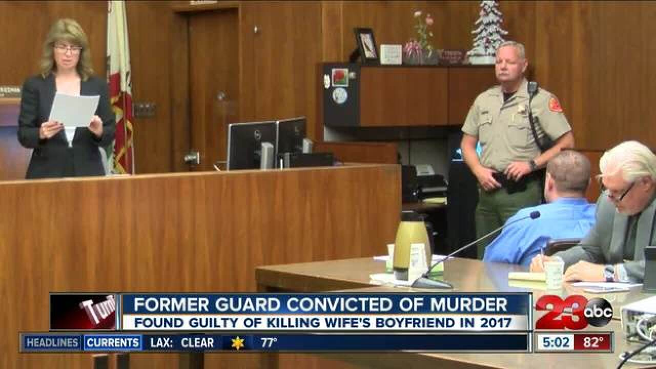 Former prison employee found guilty
