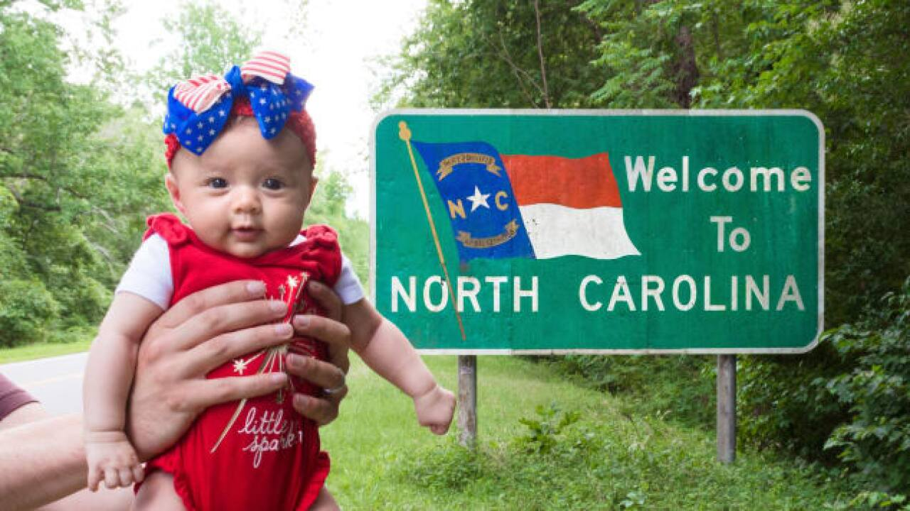 Harper Yeats will have traveled to all 50 states this week. She's only 5 months old