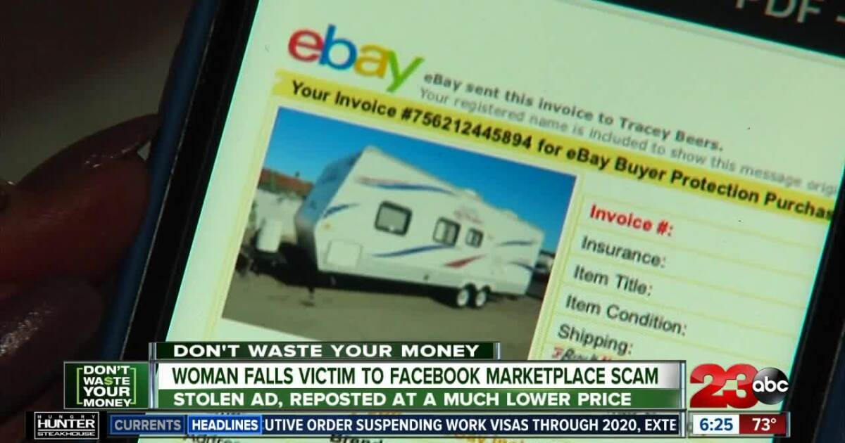 Woman Falls Victim To Facebook Marketplace Scam