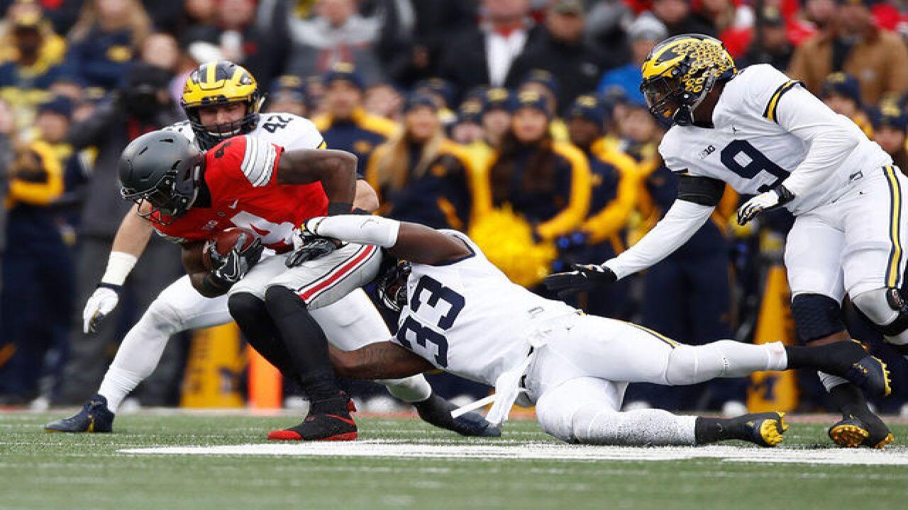 Ohio State versus Michigan live photo gallery