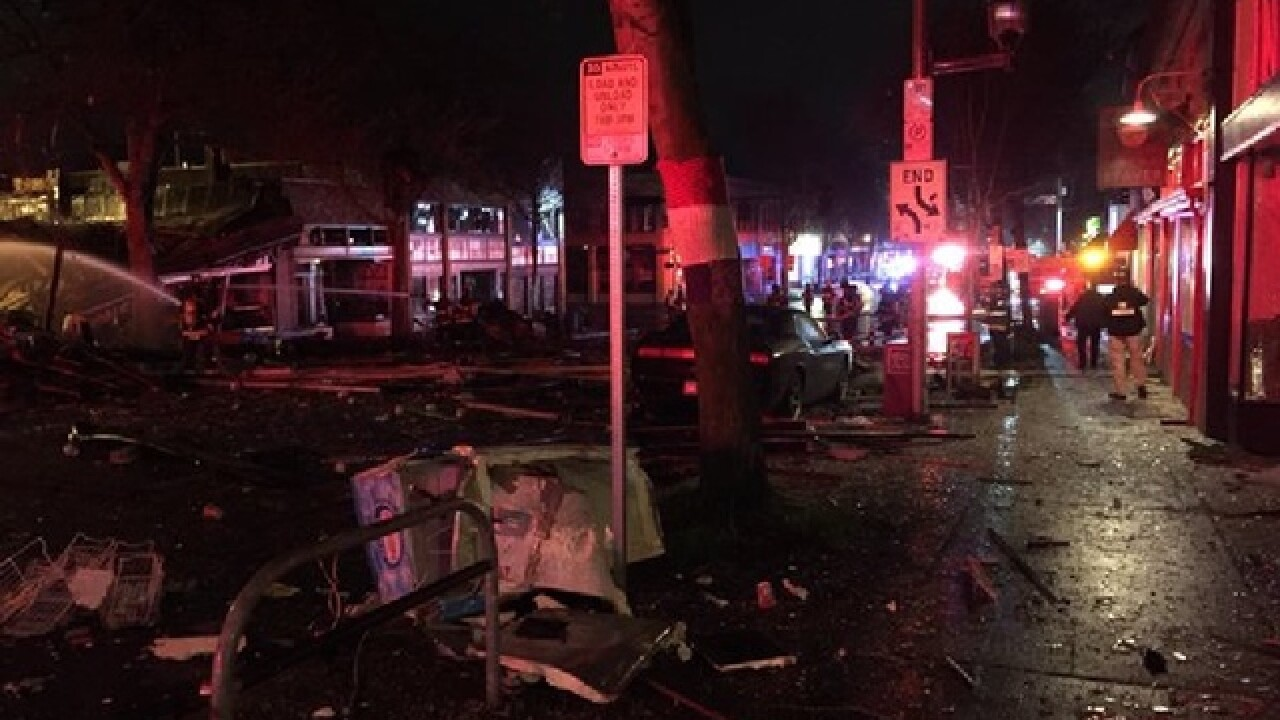 9 Seattle firefighters hurt in natural gas blast