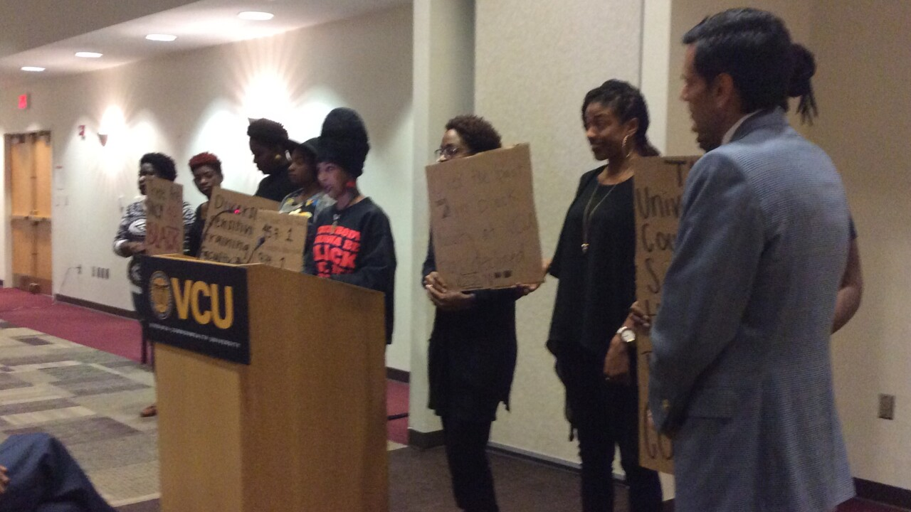 Hundreds of students, faculty demand more diversity atVCU