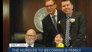 Michigan gay couple discusses the process of adoption