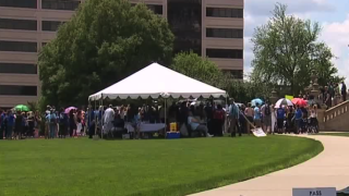 Serious car accident survivors rally in Lansing saying law puts lives at risk