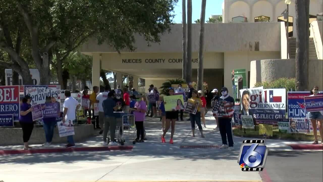 Record number of voters cast early ballots in Nueces County