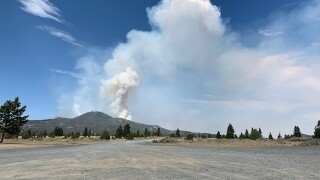 Wildfire near Butte triples in size in two days, rain expected to help fire crews