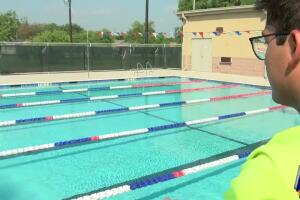 The city opens three pools Memorial Day weekend