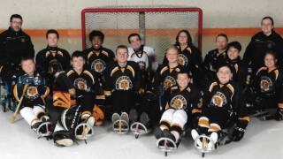 Tigers Sled Hockey Team