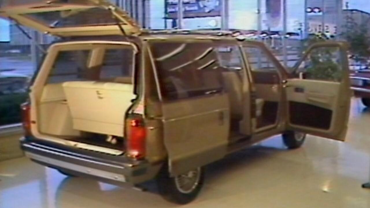 1983: The 'Magic Wagon' hits showroom floors