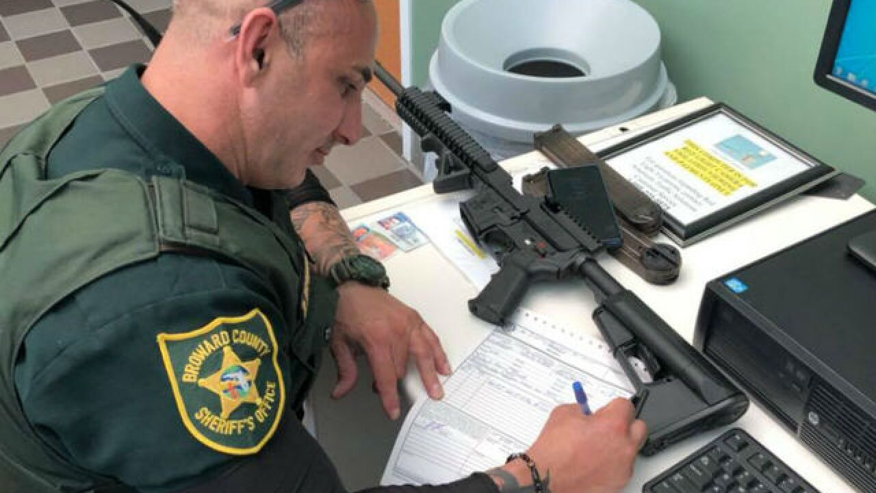 South Florida gun owner turns in AR-57 after Parkland school shooting