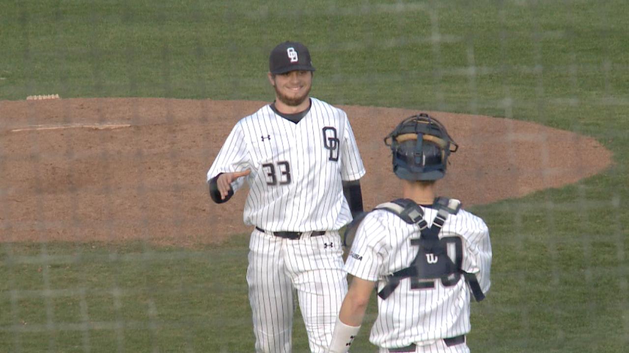 ODU baseball, High Point split season-openingdoubleheader