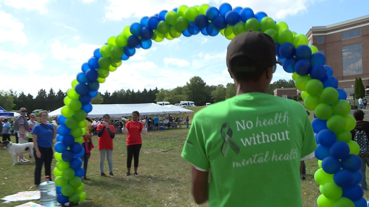 Walk raises awareness about mental illness: 'Don't be afraid. Don't give up.'
