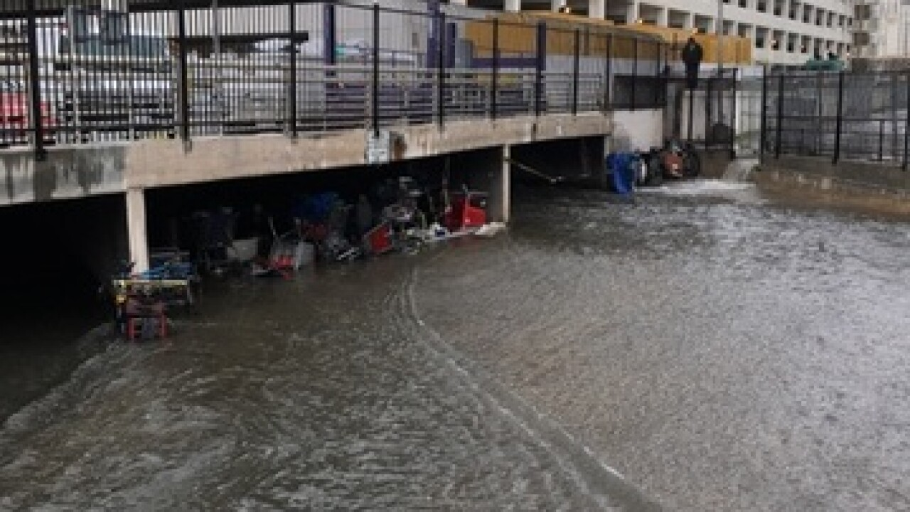 3 homeless swept under a wash by rushing water