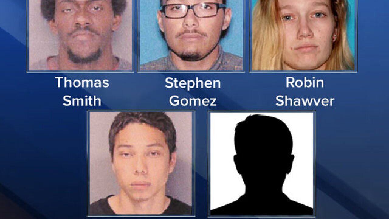 Home invasion suspects face charges Friday