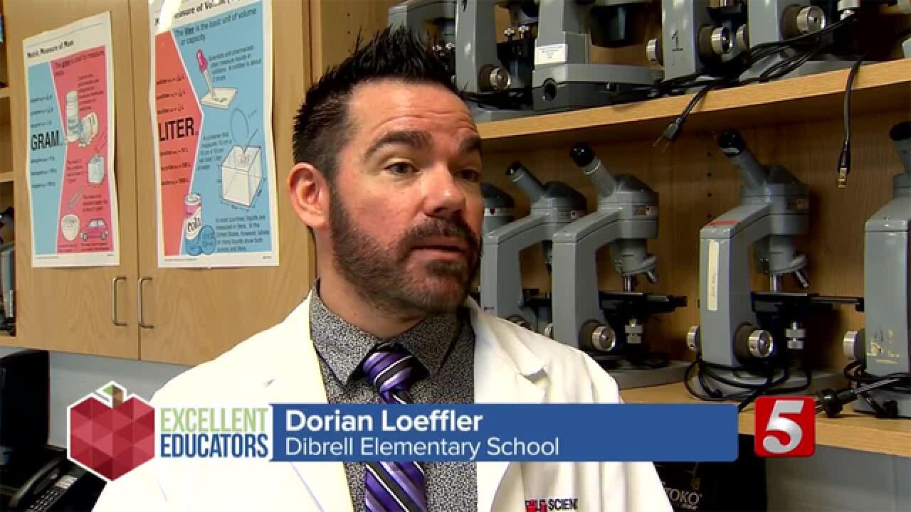 Dibrell Elementary School Science Teacher Dorian Loeffler