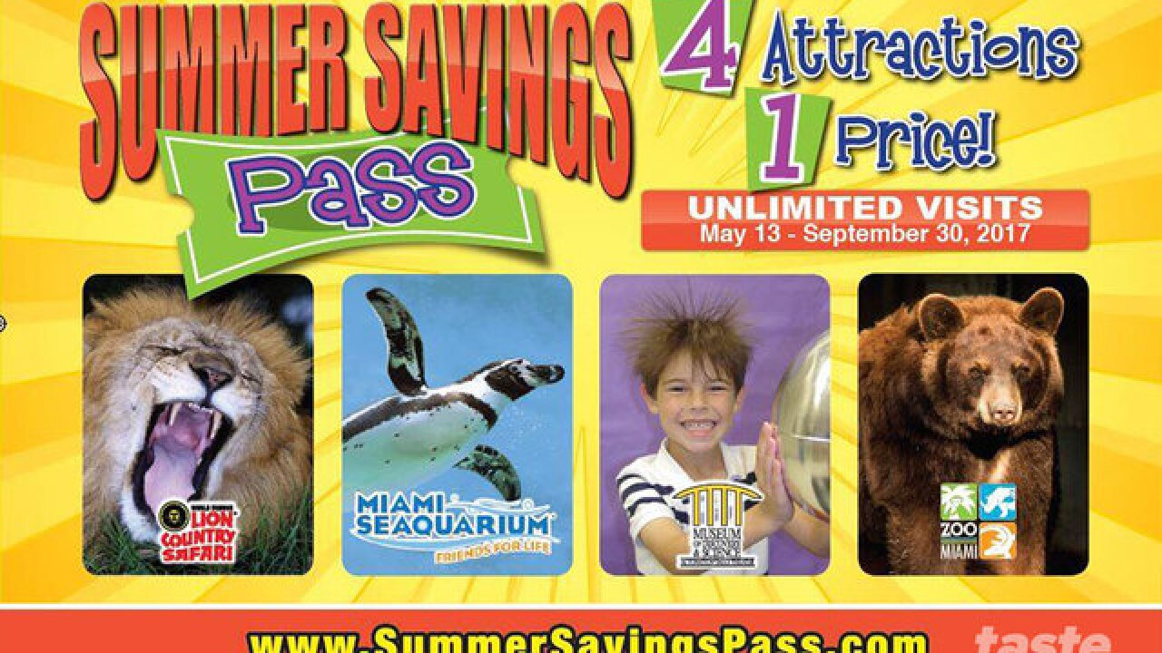 One pass will keep your kids busy this summer