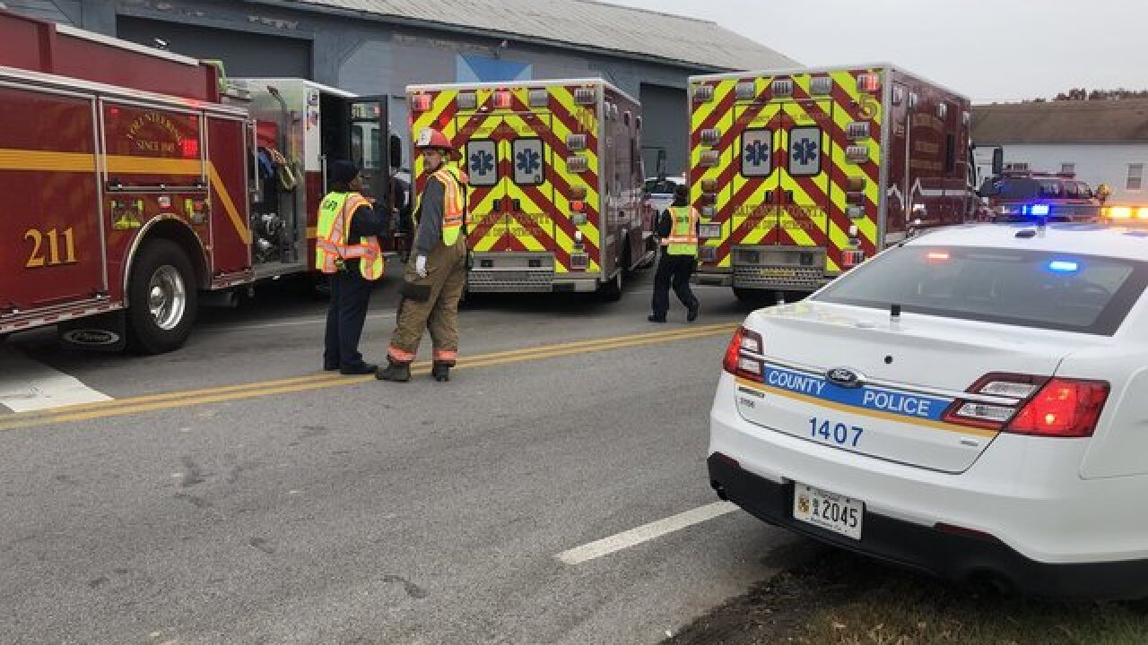 Police involved in accident in Bowleys Quarters