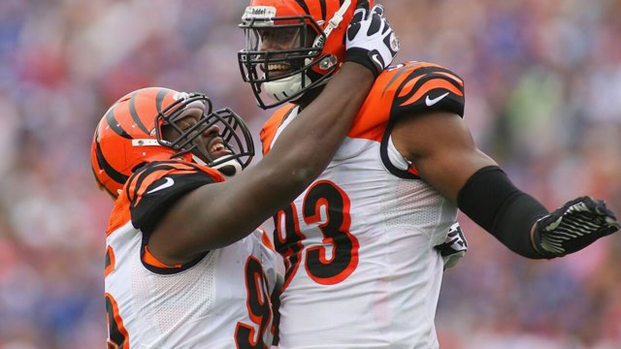 Bengals are keeping Michael Johnson after all