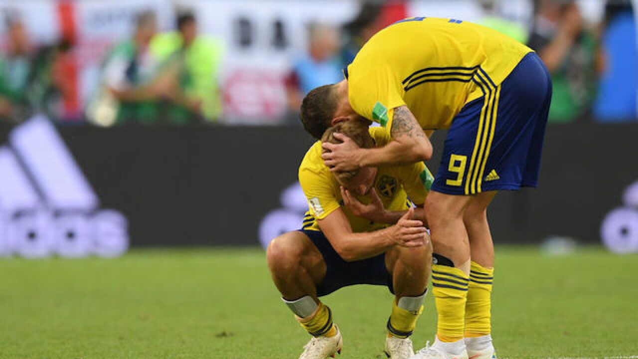 England beats Sweden to reach first World Cup semifinal since 1990