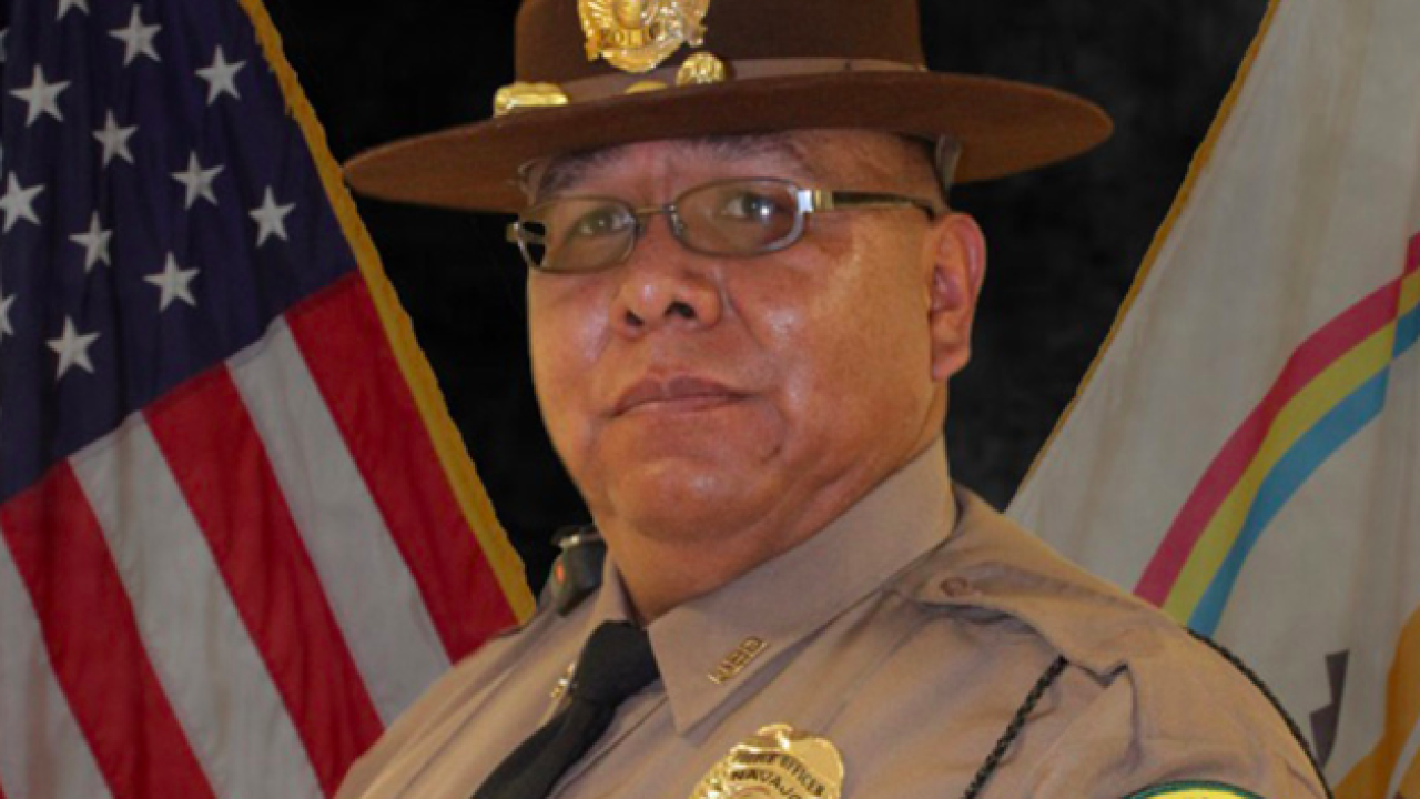 Navajo Police officer michael lee