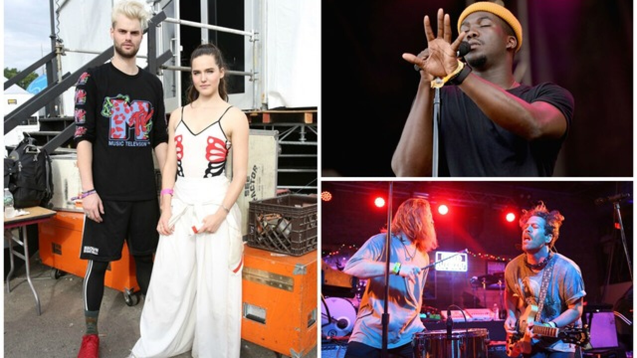 Sofi Tukker, Jacob Banks and FRENSHIP talk about winning over crowds