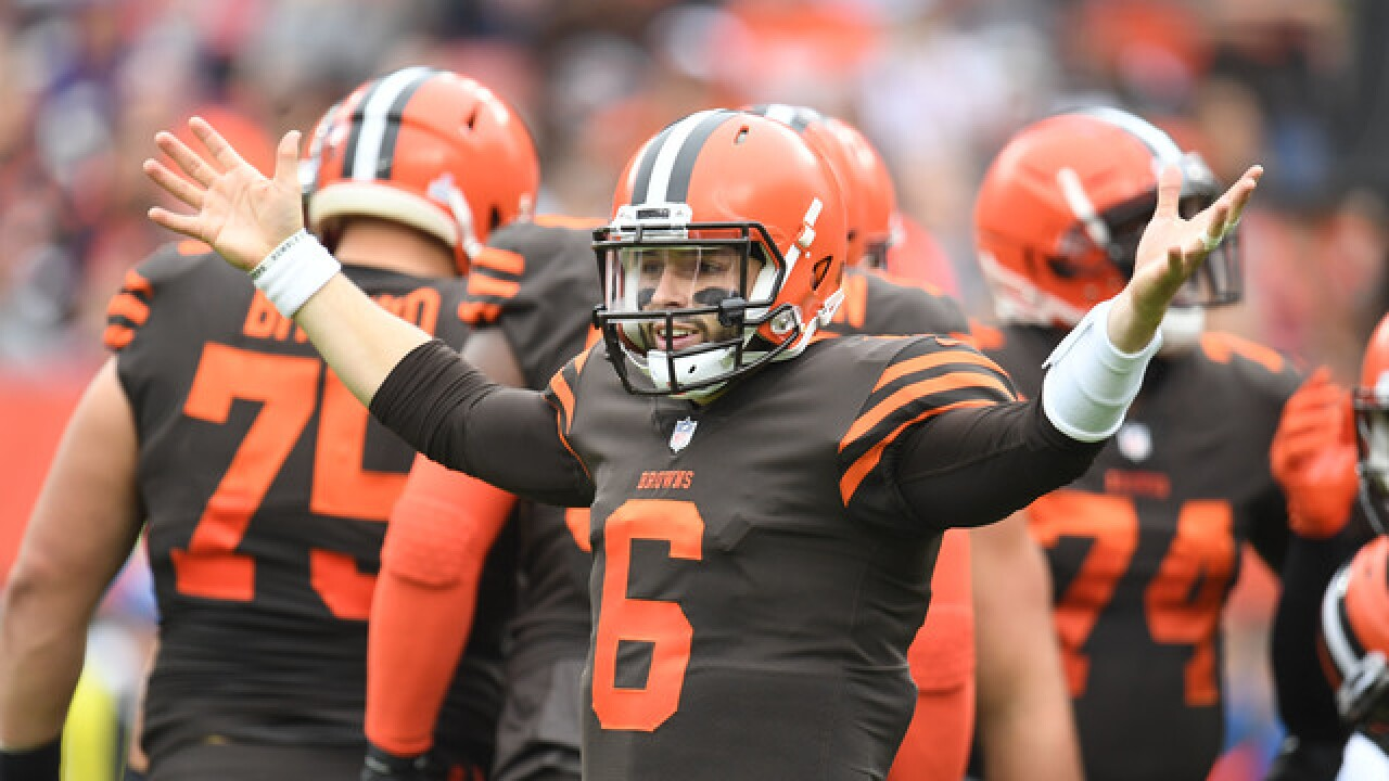 IMAGES: Cleveland Browns vs. Baltimore Ravens