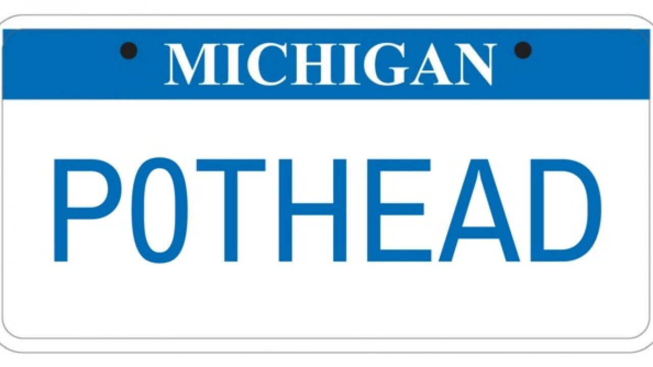 These are the rejected plates from Michigan SOS