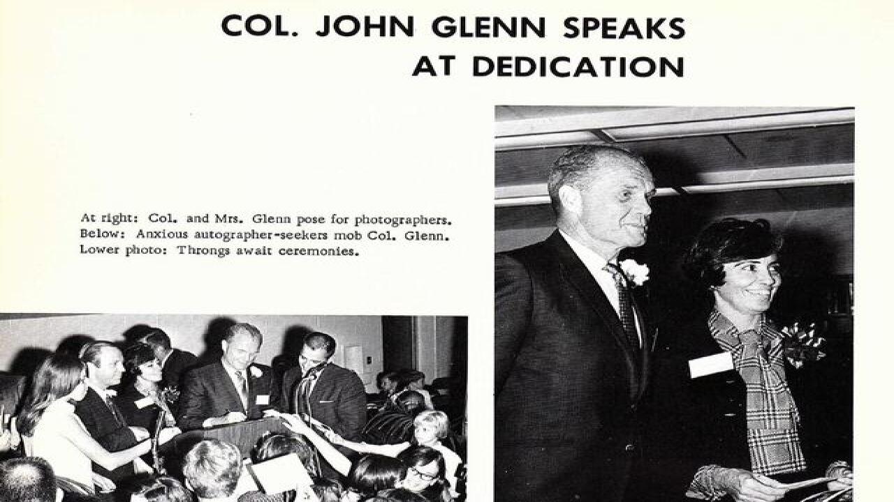 PHOTOS: John Glenn visits Walkerton, Indiana
