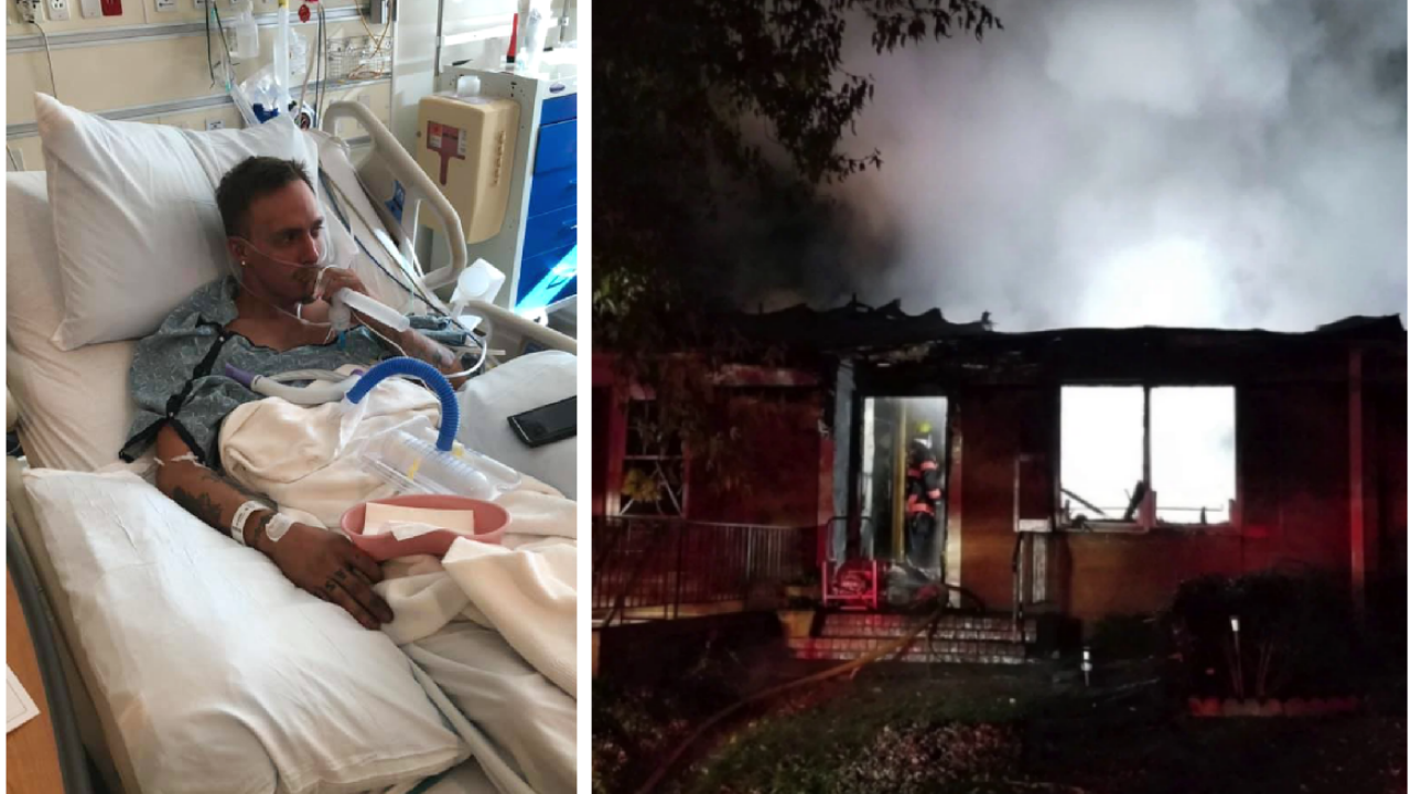 Grandson helps rescue grandparents during Hanover housefire