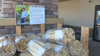 Stevensville man making an impact with Bubba's Bundles firewood