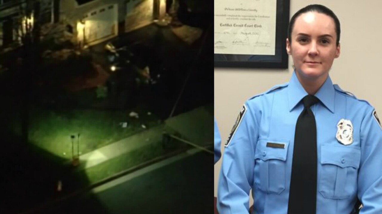 Prince William officer shot during domestic call dies; 2 other officerswounded