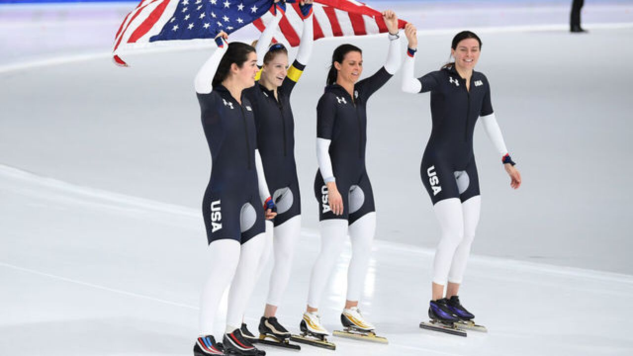 USA finally scores long-track speed skating medal