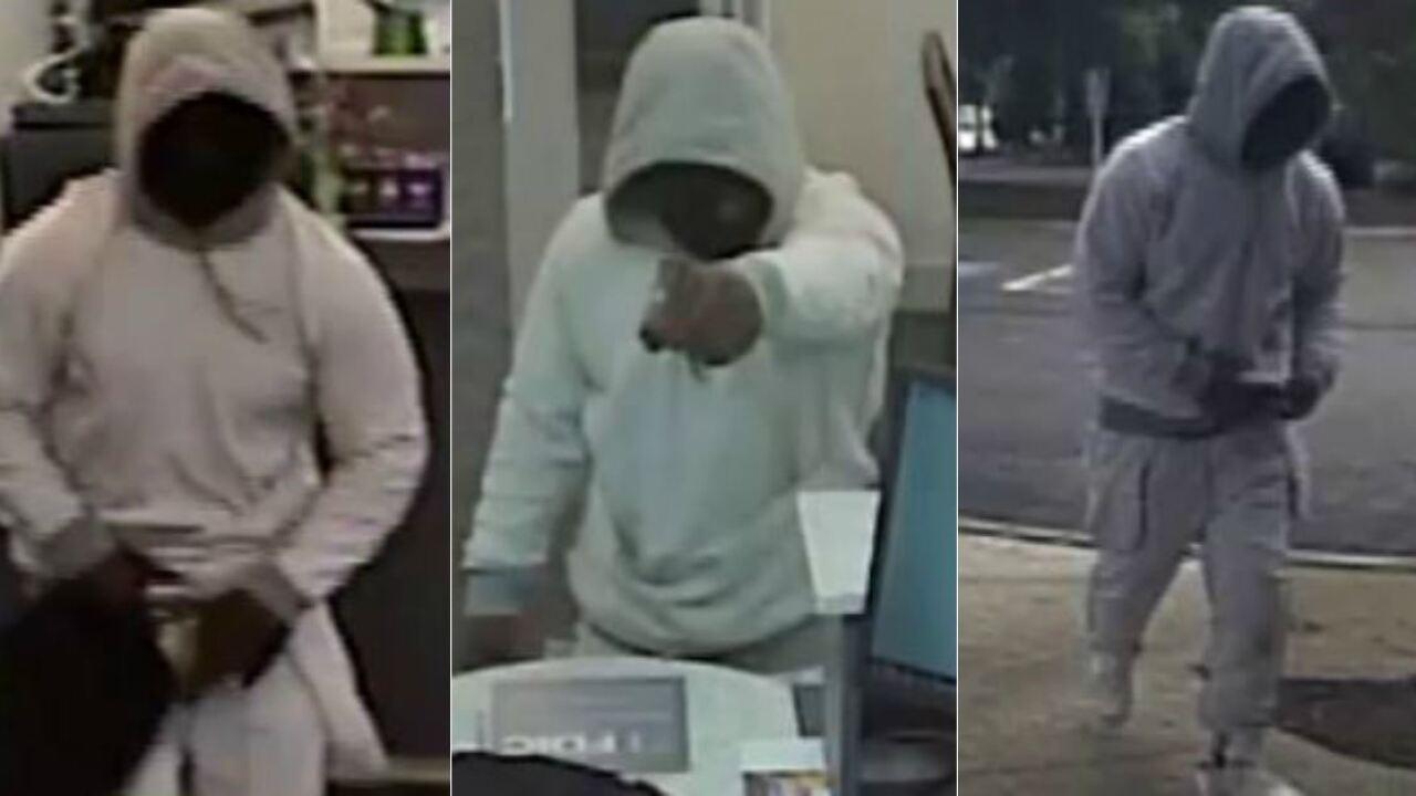 Masked gunman robs Three Chopt Roadbank