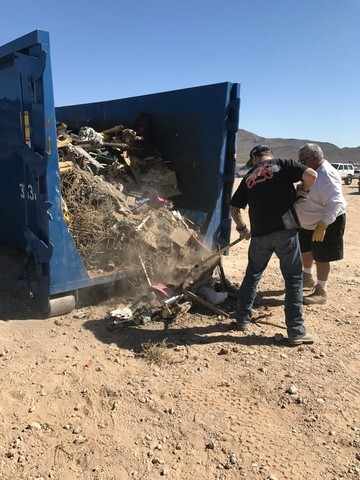 PHOTOS: Desert Dumping