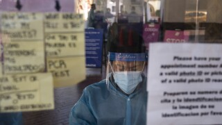 Virus Outbreak US Surge