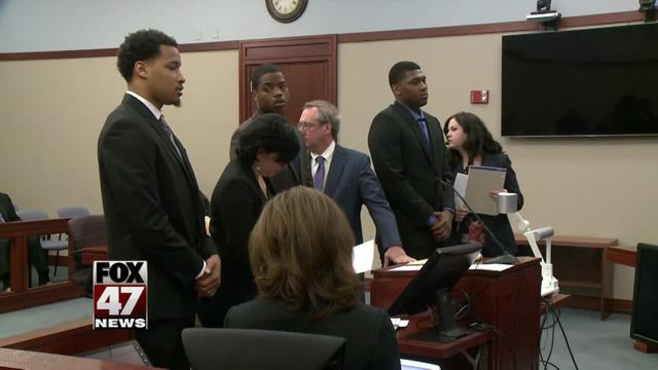 Fmr. MSU football players to be sentenced