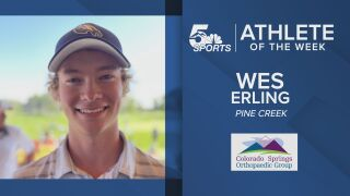KOAA Athlete of the Week: Pine Creek's Wes Erling take second in 5A state golf championship