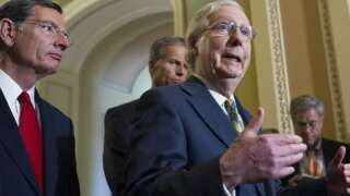 McConnell Talks To Reporters About Midterms