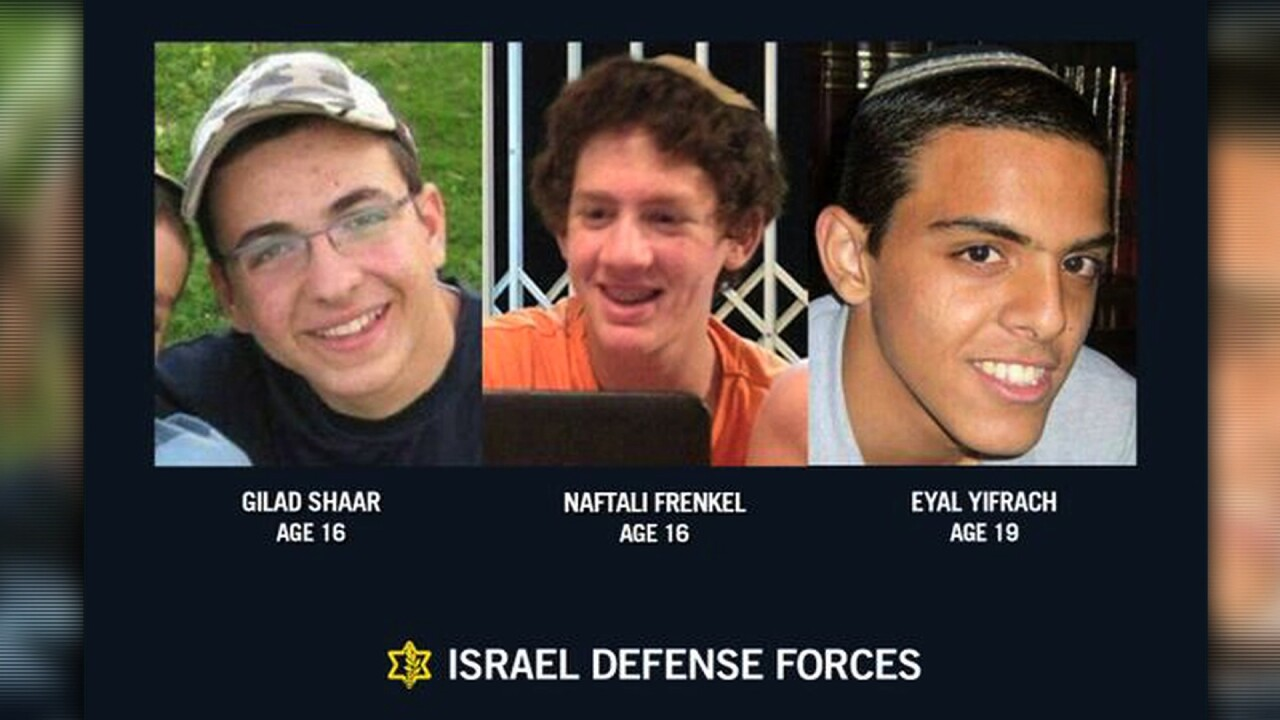 As Israel mourns, prepares to bury three teens, leader warns 'Hamas will pay'