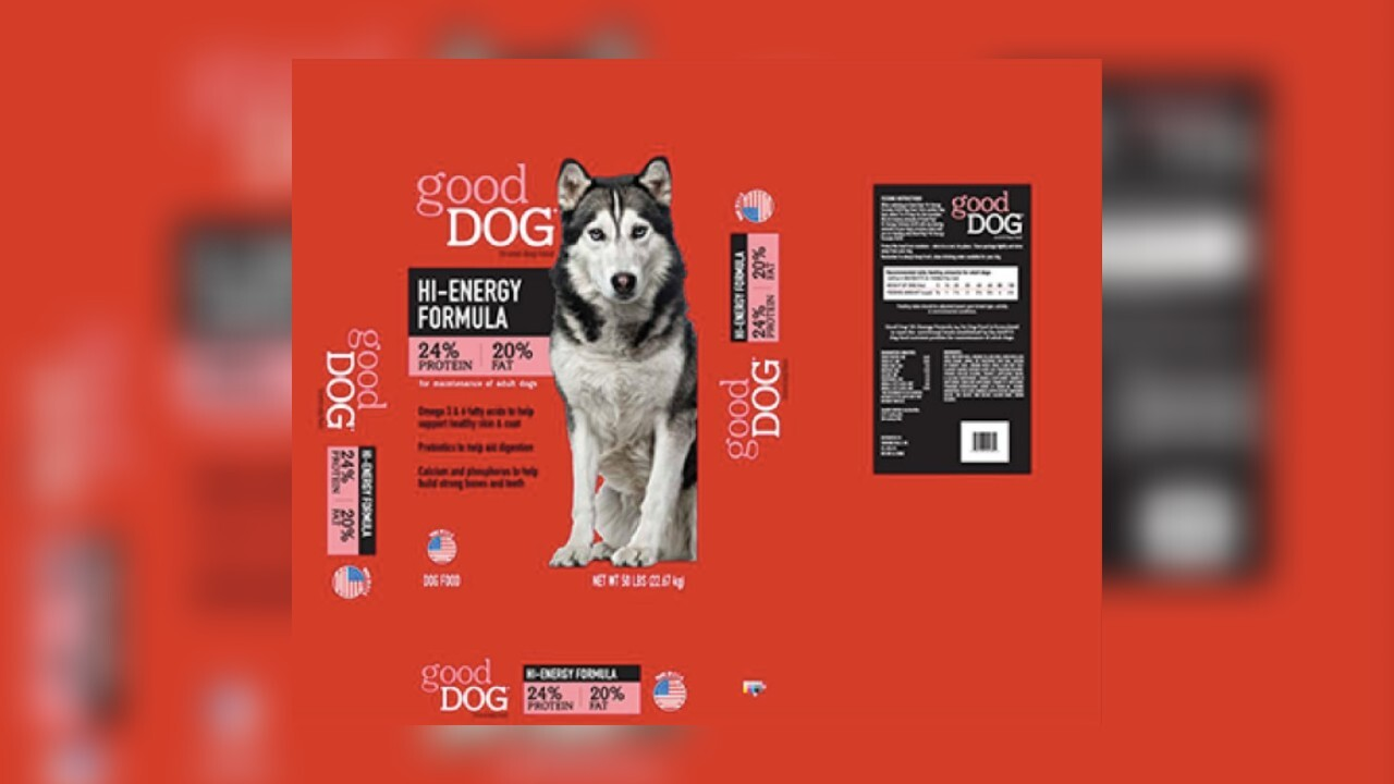 Sunshine Mills expands recall on dog food, FDA says