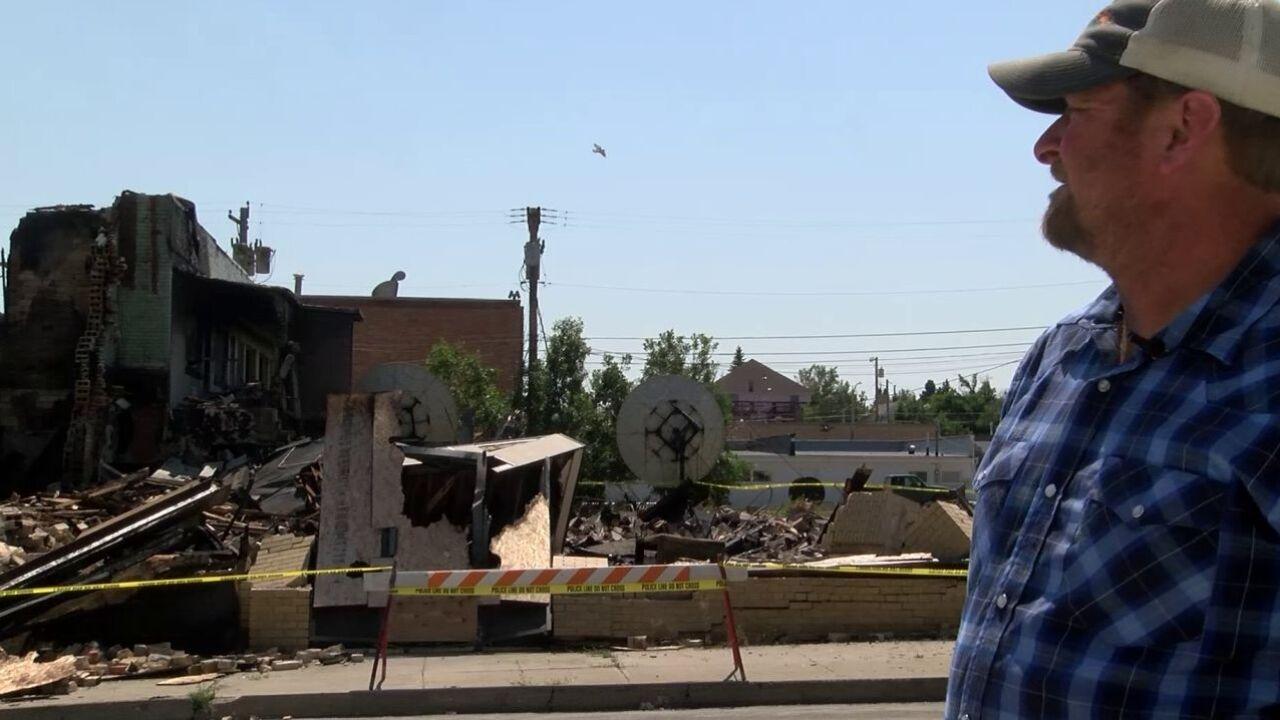 Fire destroys former Glacier Motel in Cut Bank