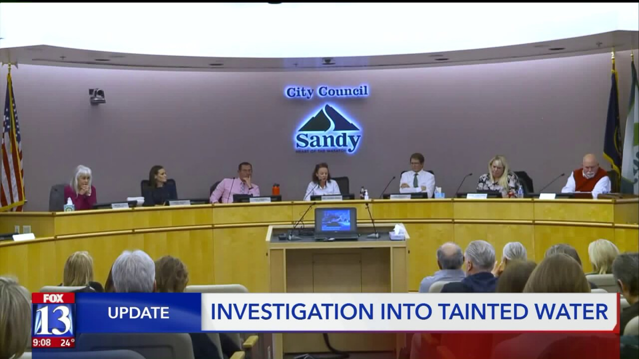 Investigation says Sandy City failed to give public notice about watercontamination