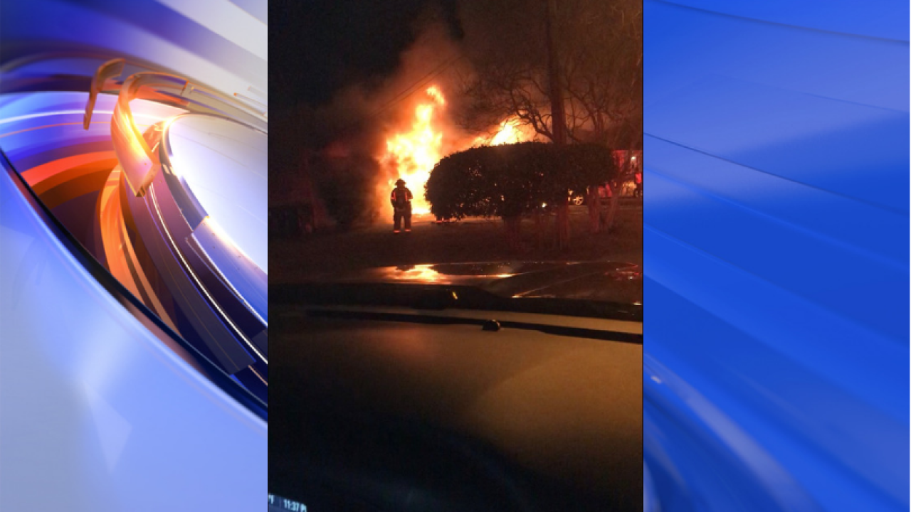 Four people displaced by Norfolk housefire
