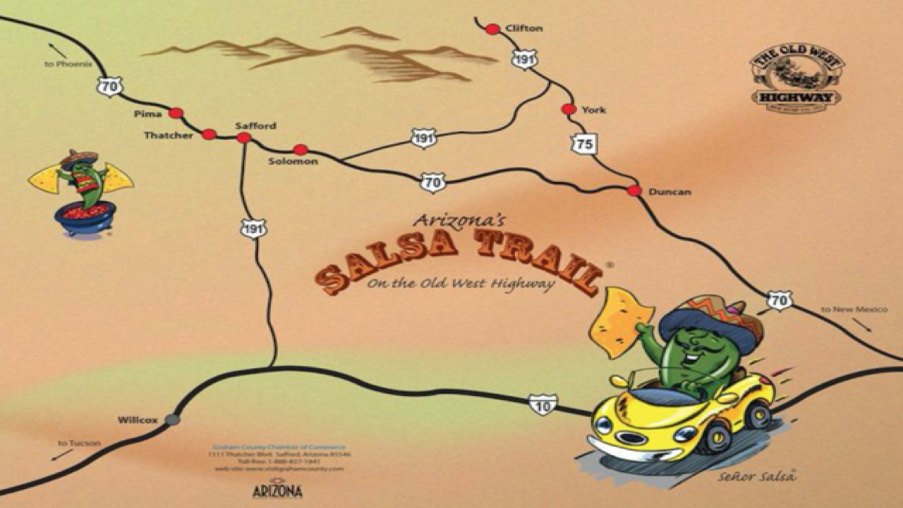 Grab Chips! Passport To Arizona's Salsa Trail