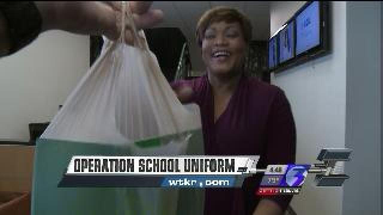 There's still time to donate to Operation School Uniform