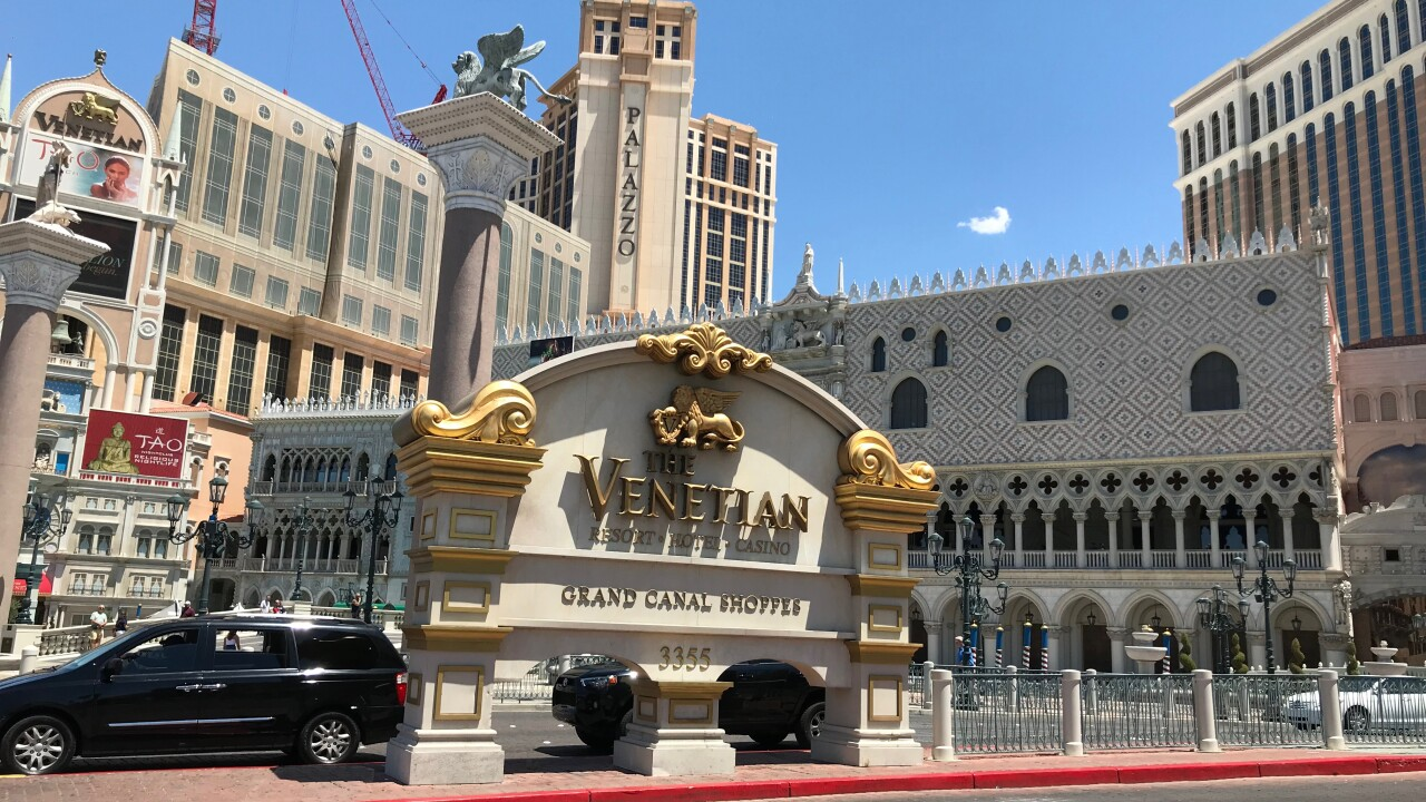A couple visiting Las Vegas fell victim to an unusual heist that now has police investigating who accessed their room with a key card.