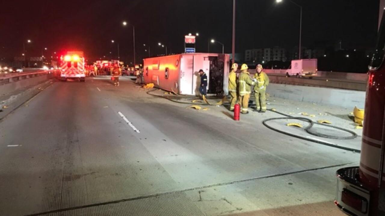 San Diego casino bus crashes in LA