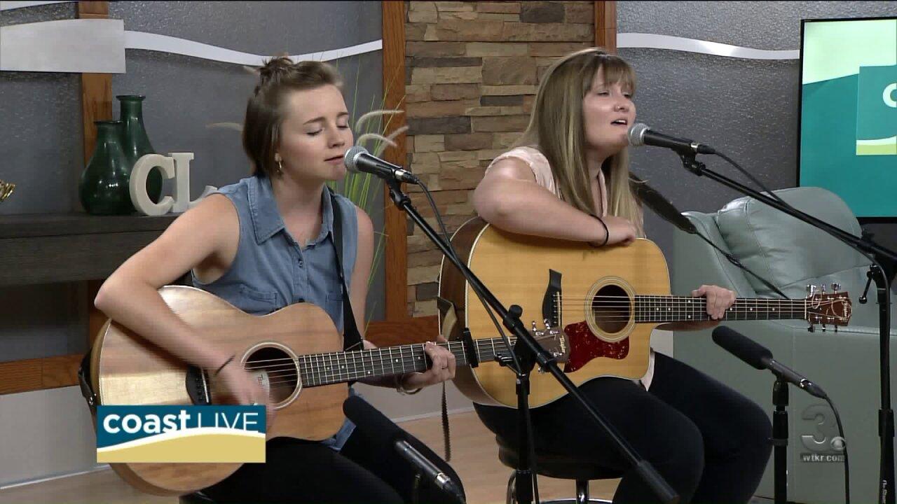 Local music spotlight with Nicole Tester and Madison Warner on CoastLive