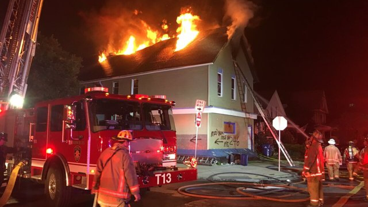 Three adults, 11 children forced out of home after two-alarm fire in Buffalo