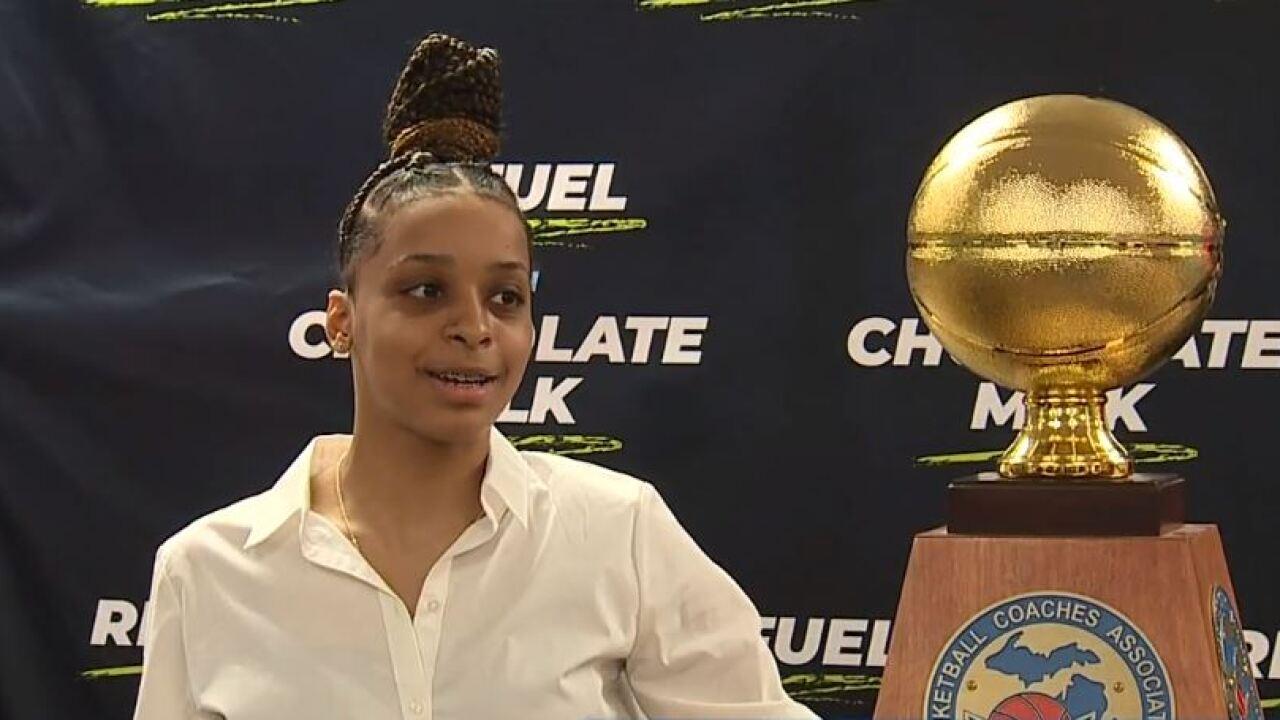 Damiya Hagemann Miss Basketball